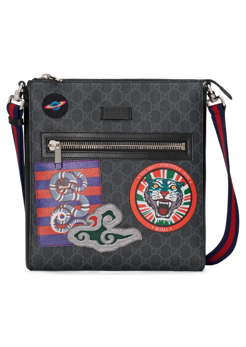 3e9bc026fd0cf5 Gucci Gucci Night Courier GG Supreme Messenger Bag | Handbags