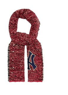 Gucci NY Yankees-patch tweed scarf