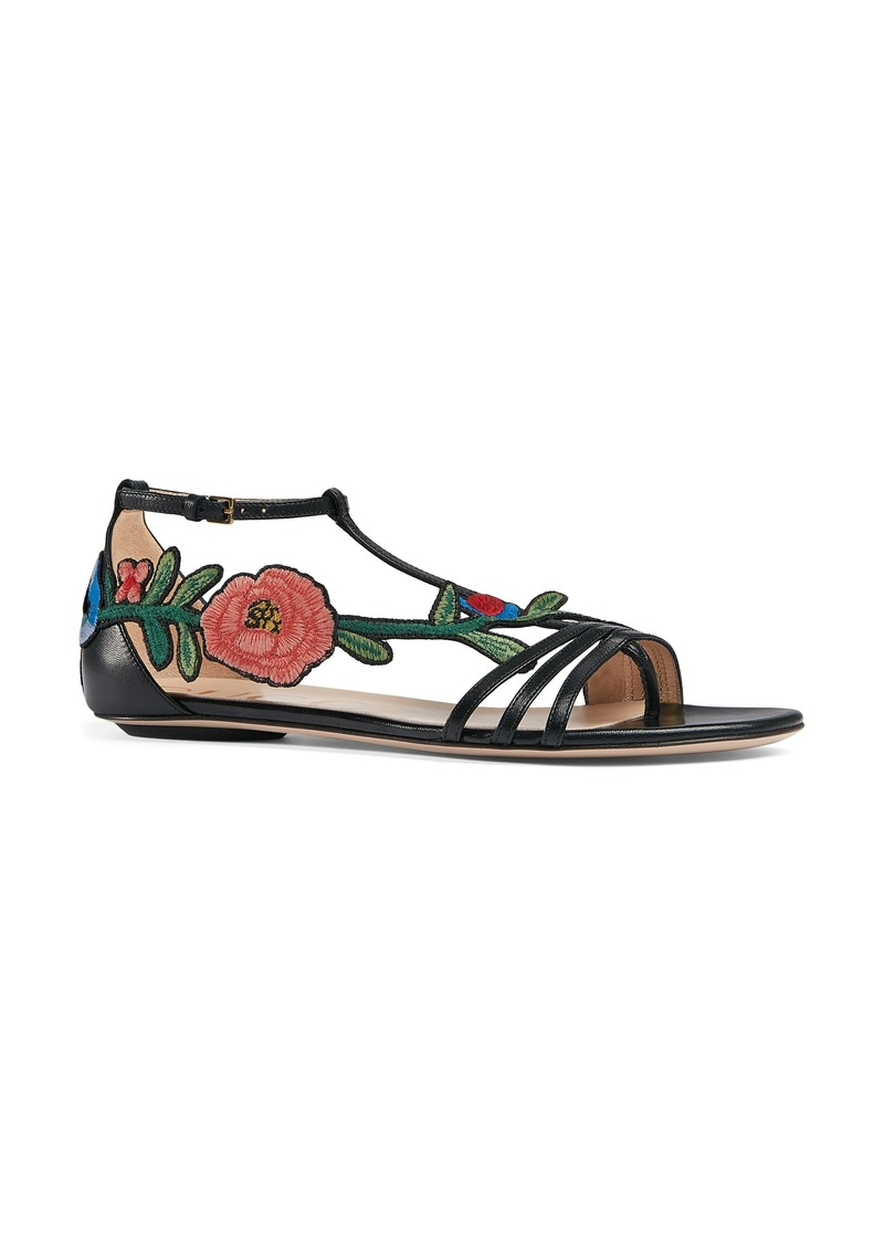 1cbfe53498ed Gucci Gucci Ophelia Flower Sandal (Women)