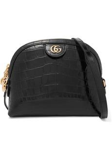 Gucci Ophidia Alligator Shoulder Bag