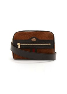 Gucci Ophidia GG suede belt bag