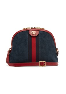 Gucci Ophidia GG suede cross-body bag