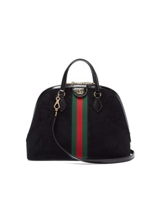 Gucci Ophidia GG suede tote bag