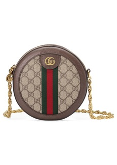 Gucci Ophidia GG Supreme Canvas Circle Crossbody Bag