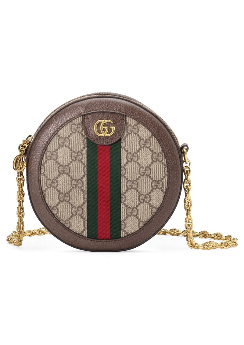 5819fdc13 Gucci Gucci Ophidia GG Supreme Canvas Circle Crossbody Bag | Handbags