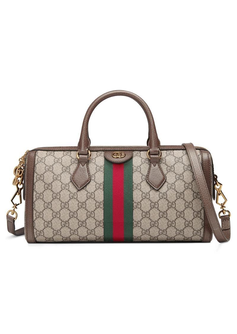 Gucci Canvas Top Handle Bag