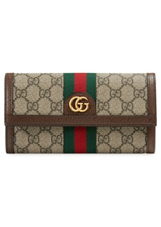 Gucci Ophidia GG Supreme Continental Wallet