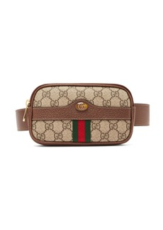2760a205a9fbde Gucci Gucci Osiride Genuine Snakeskin & GG Supreme Shoulder Bag ...