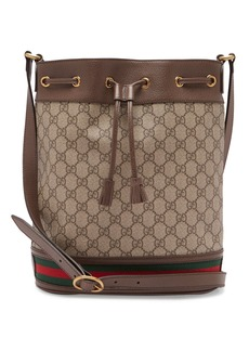 Gucci Ophidia GG Supreme leather bucket bag