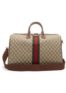 Gucci Ophidia GG Supreme logo weekend bag