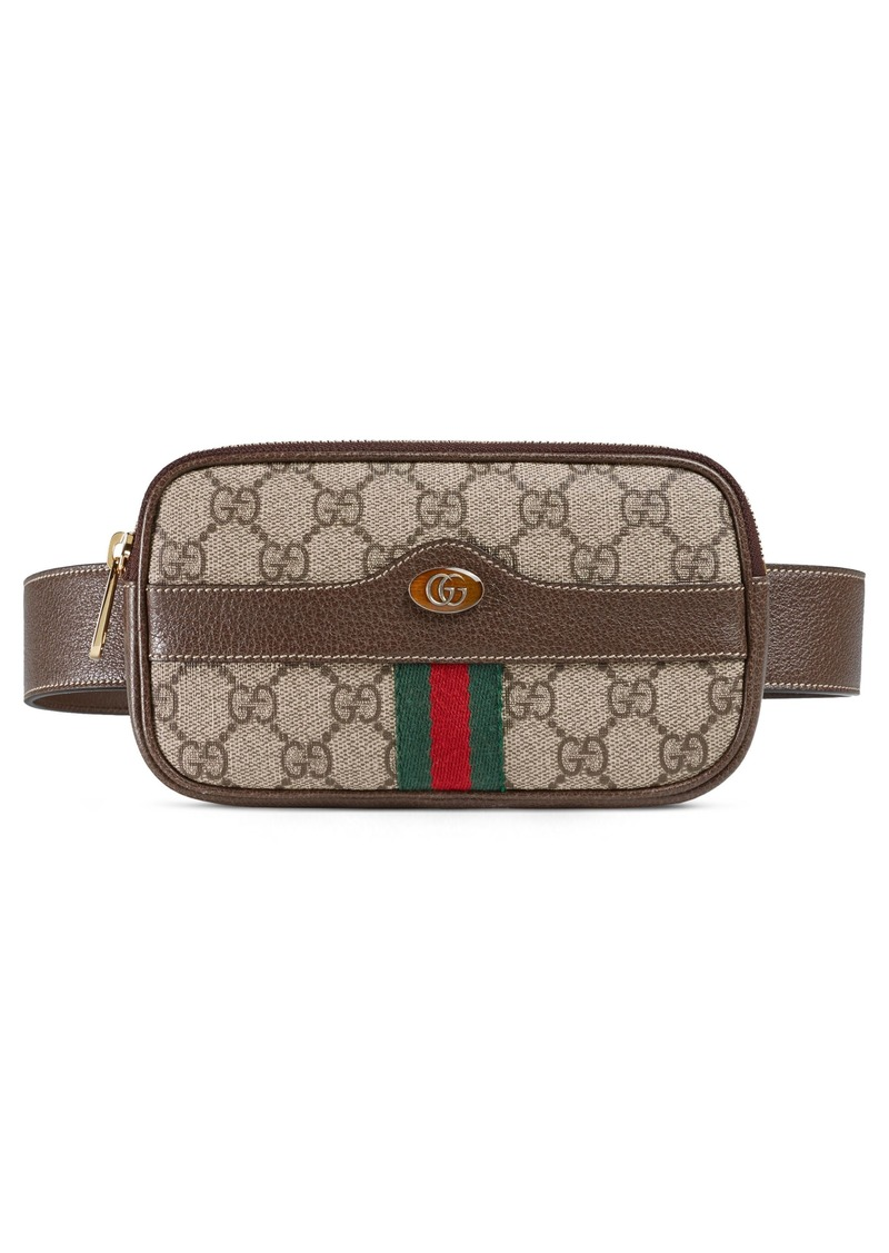 Gucci Gucci Ophidia GG Supreme Small Canvas Belt Bag  0682b768f9e0e