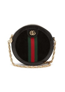 Gucci Ophidia leather and suede cross-body bag