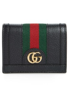 Gucci Ophidia Leather Bifold Card Case