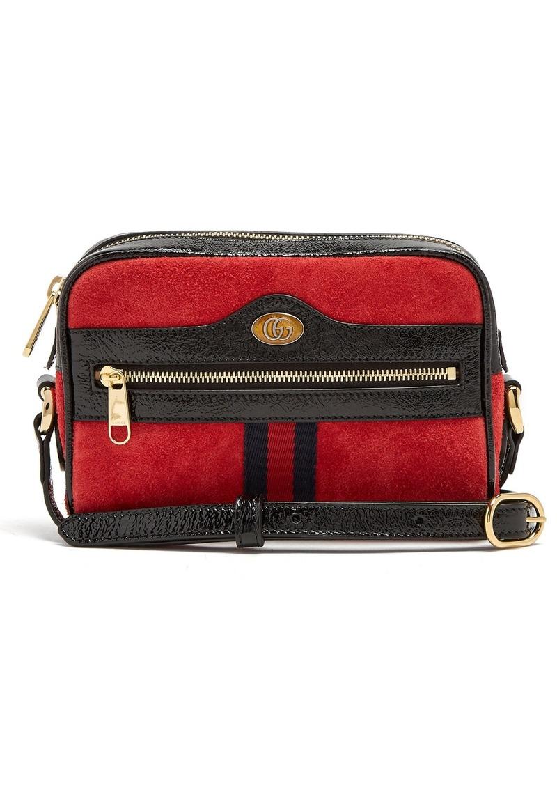 0bb189b9b173 Gucci Gucci Ophidia mini suede cross-body bag   Handbags