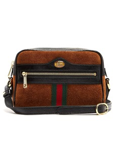 Gucci Ophidia mini suede cross-body bag