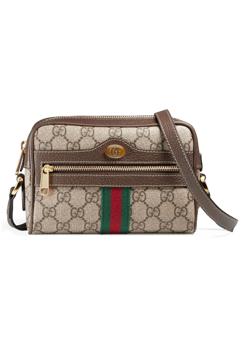 0725eb65c95 Gucci Gucci Ophidia Small GG Supreme Canvas Crossbody Bag