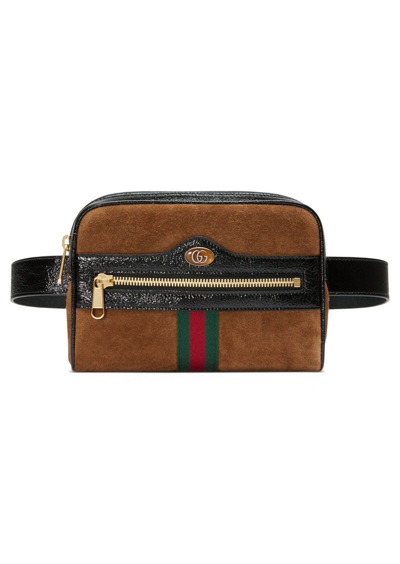 093527e918a Gucci Gucci Ophidia Small Suede Belt Bag