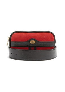 Gucci Ophidia small suede belt bag