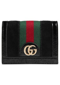 Gucci Ophidia Suede Card Case