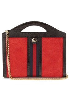 Gucci Ophidia suede top-handle bag