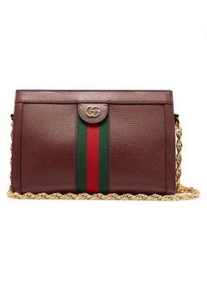 Gucci Ophidia Web-stripe leather shoulder bag