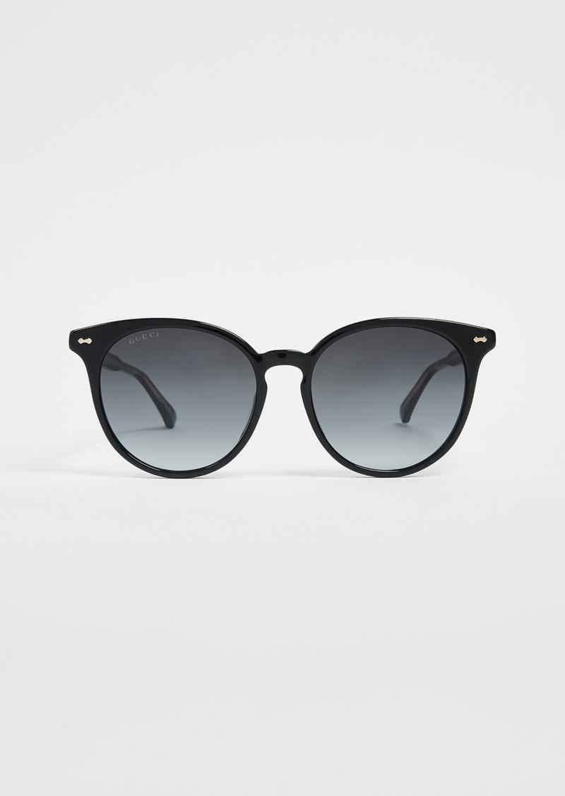 6ecf731353 Gucci Gucci Opulent Luxury Decor Round Sunglasses
