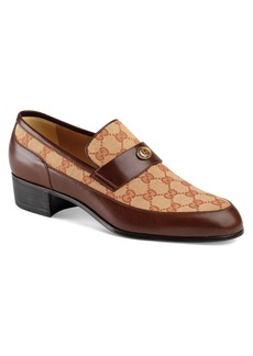 Gucci Original GG Loafer with Gucci Team Motif (Men)