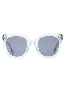 Gucci Oversized cat-eye acetate sunglasses