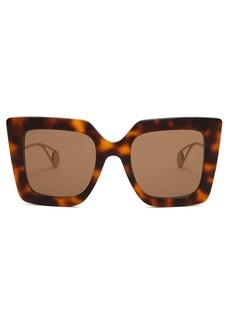 9860d37af3b Gucci Gucci 62mm Oversize Butterfly Sunglasses