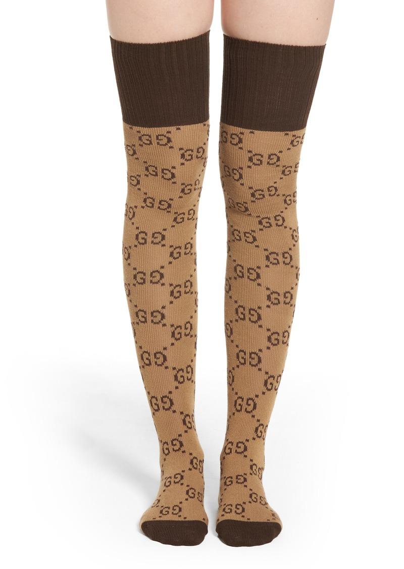 8456a31b21c0b Gucci Gucci Pariggi Over the Knee Socks | Intimates