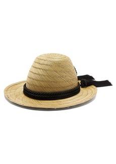 Gucci Passementerie-trim straw hat