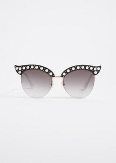 Gucci Pearlescent Sunglasses