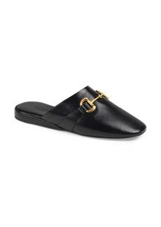 Gucci Pericle Square Toe Mule (Women)