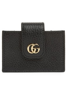 Gucci Petite Marmont Leather Card Case