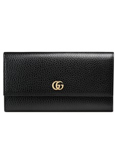 Gucci Petite Marmont Leather Continental Wallet