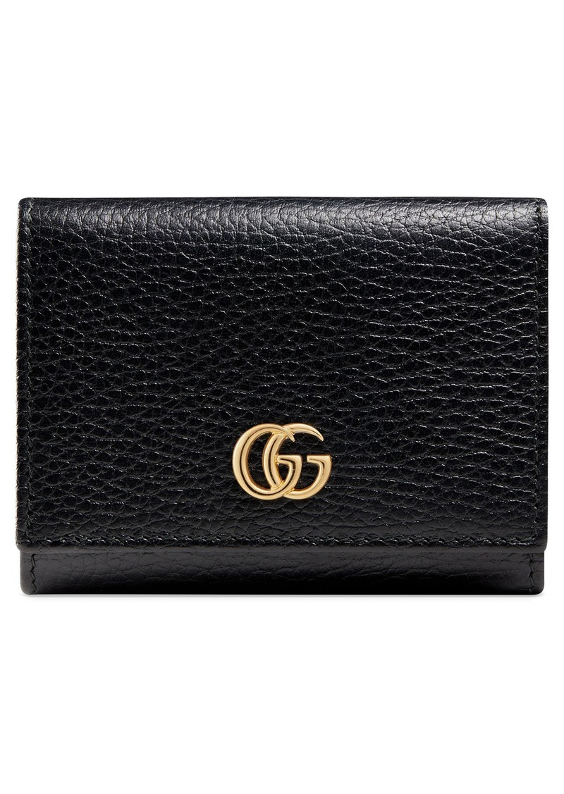 Gucci Petite Leather French Wallet