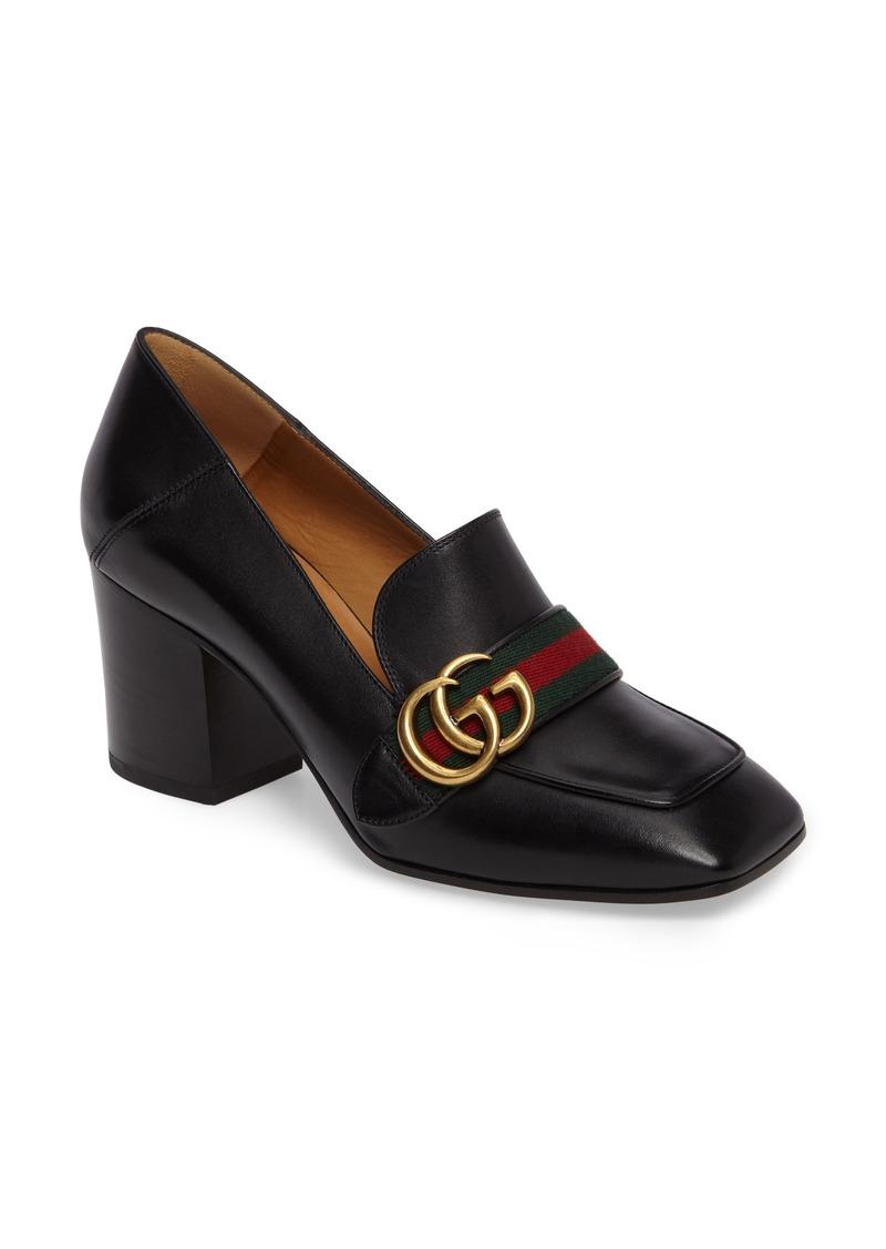 Women S  Square Block Heel Shoe