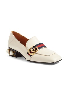 Gucci Peyton Embellished Heel Loafer (Women)