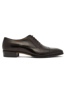 Gucci Plata leather derby shoes