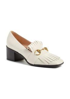 Gucci 'Polly' Block Heel Pump (Women)