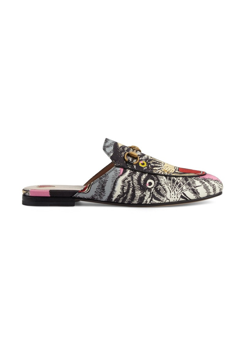 e569b4db772 Gucci Gucci Princetown Angry Cat Mule Loafer (Women)
