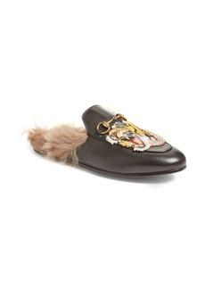Gucci Princetown Genuine Fur Loafer Mule (Women)