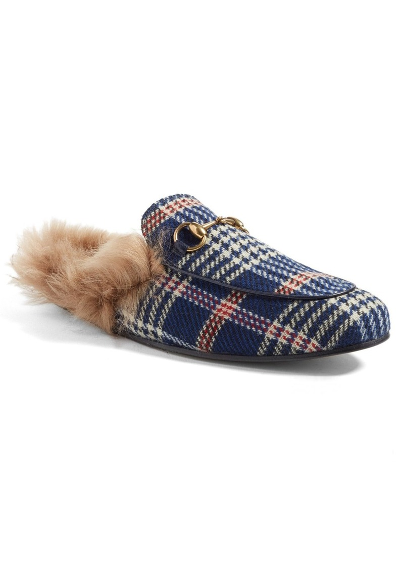 Gucci 'Princetown' Genuine Shearling Lined Loafer (Men)