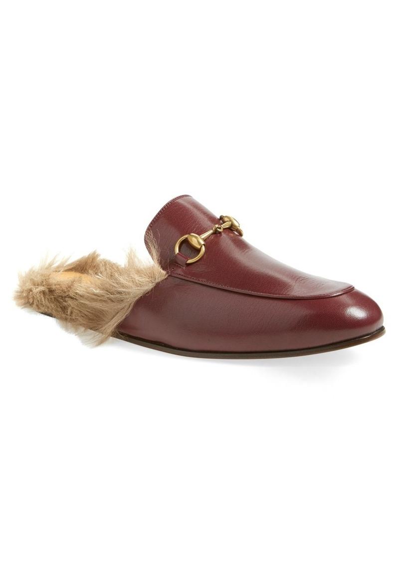 8e6caa3309d Gucci Gucci Princetown Genuine Shearling Lined Mule Loafer (Men)
