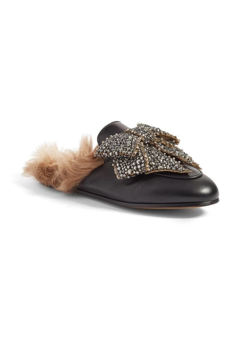 f40b9bb75213 Gucci Gucci Princetown Genuine Shearling Loafer Mule (Women)
