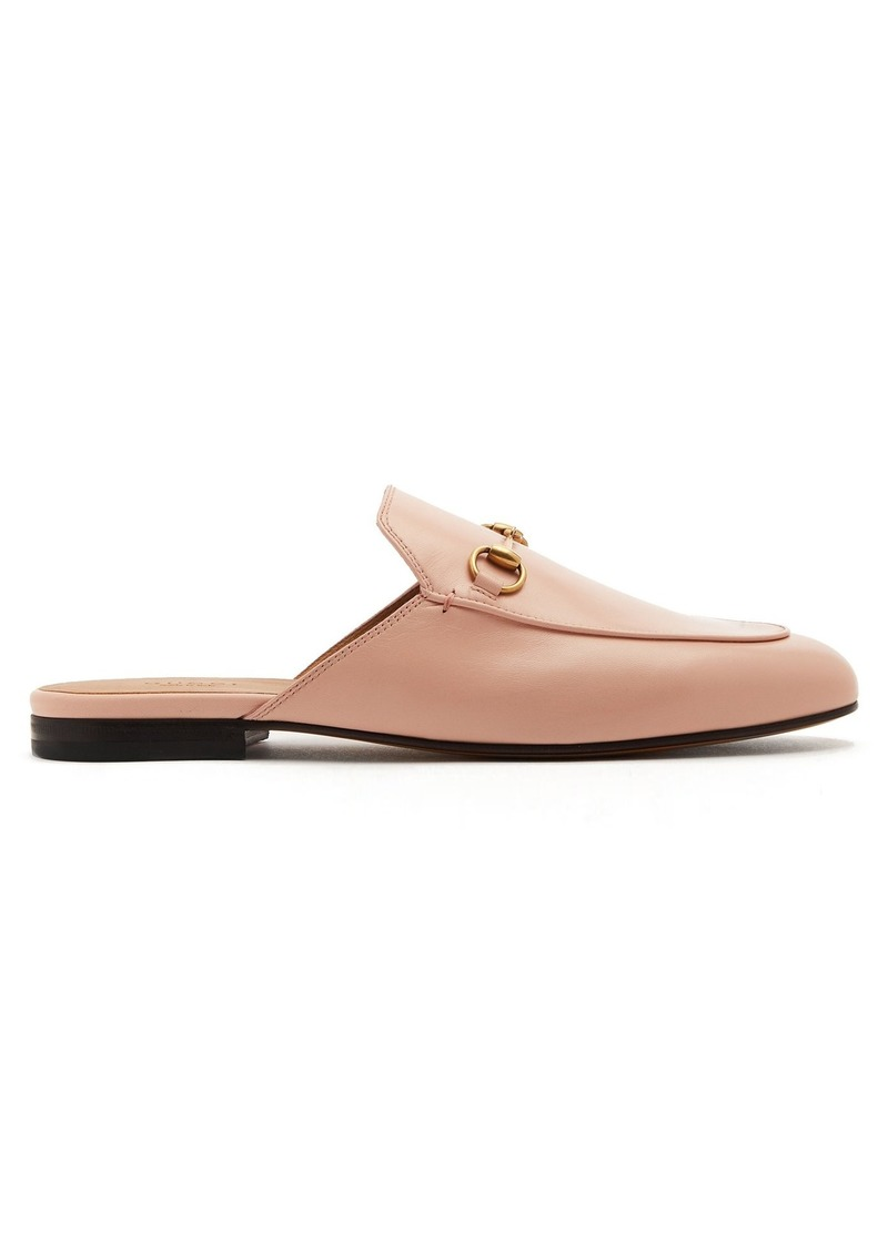 91919f8288e Gucci Gucci Princetown leather backless loafers