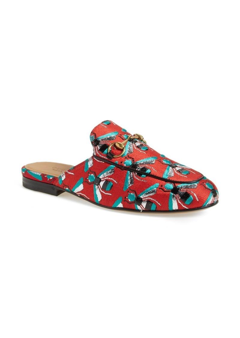 9b1d4b38f Gucci Gucci 'Princetown' Print Mule Loafer (Women) | Shoes