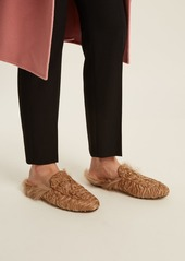 47a83a2e01f ... Gucci Princetown shearling-lined fur loafers ...
