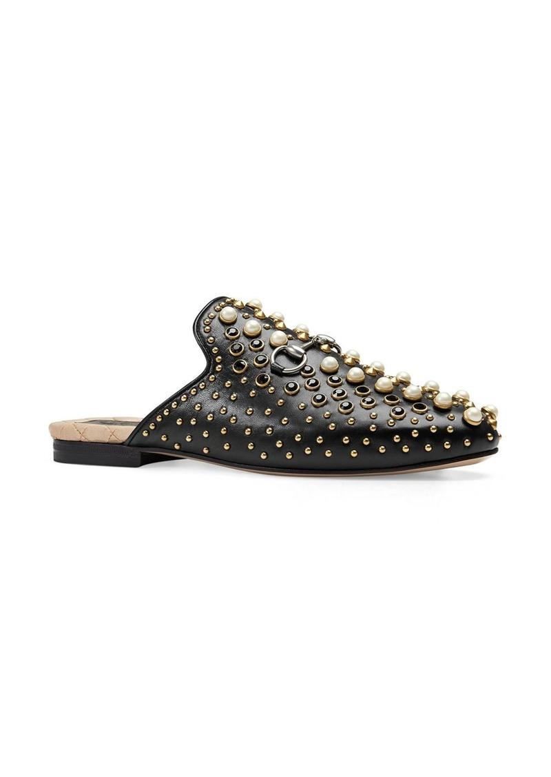 4acf280f3b9 Gucci Gucci Princetown Studded Loafer Mule (Women)