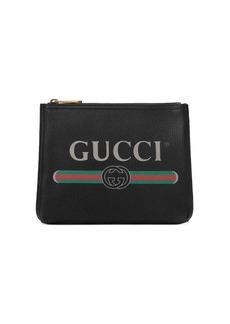 Gucci print briefcase